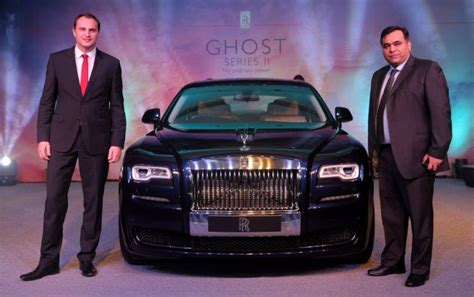 roll royce delhi rolls royce ghost series ii launched in new delhi motoroids