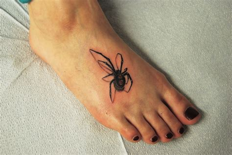 3d spider tattoos 3d spider black iron