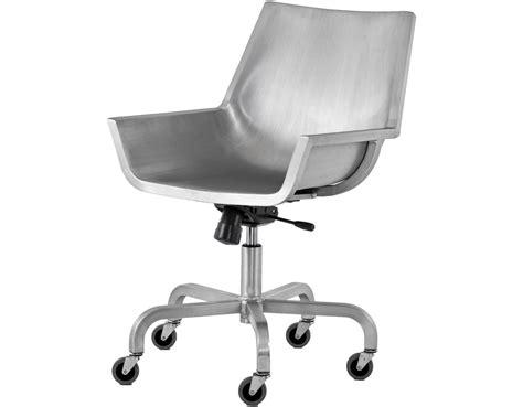 Emeco Sezz Swivel Chair Hivemodern Com Swivel Chair Process