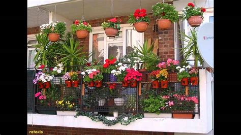 Gardening Ideas For Small Balcony Fascinating Balcony Garden Designs