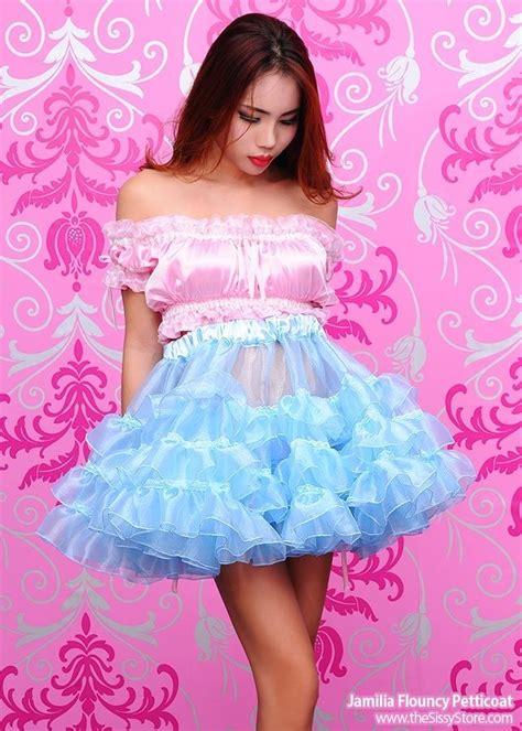 women wearing short sissy dresses petticoats pictures photos jamilia flouncy petticoat sissy dresses pinterest