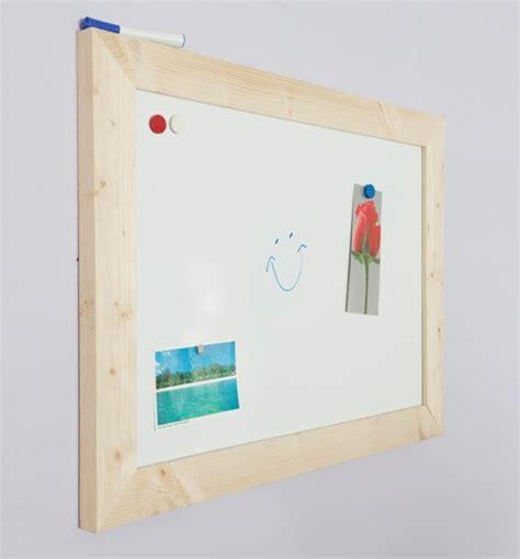 modern whiteboard modern whiteboard 60x80 cm met blanke steigerhouten lijst
