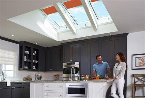 Velux Kitchen Skylights by Velux Quot Fresh Air Quot Skylights Not Only Refresh Stale Kitchen