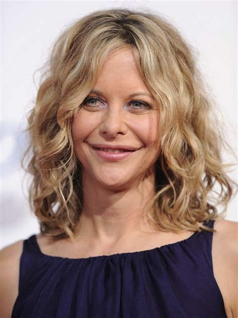 meg ryan hairstyles front and back more pics of meg ryan medium curls 9 of 19 meg ryan