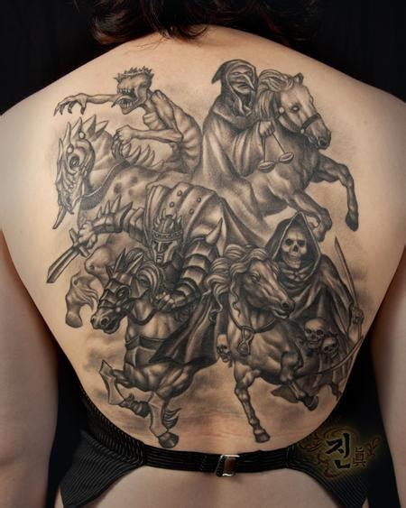 the four horsemen tattoo designs the map jin o tattoos page 1