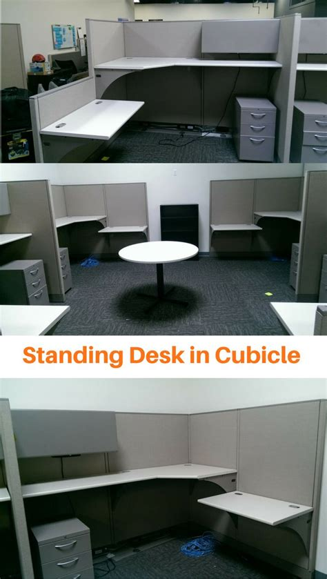 Convert Cubicle To Standing Desk by 25 Best Ideas About Standing Desk Benefits On