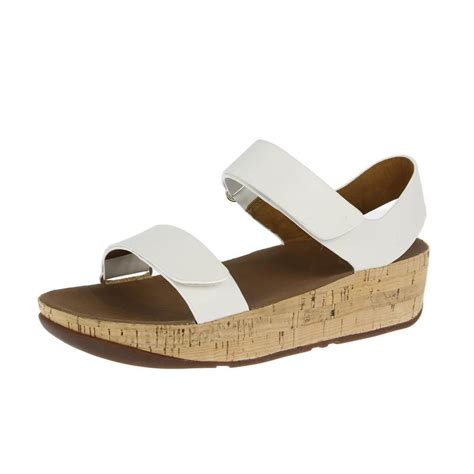 fitflop sandals fitflop sandals bon easy white