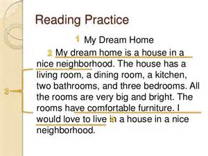 My Ideal House Essay by Parts Of A Paragraph