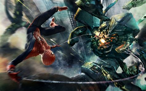 amazing spider man boss fight wallpapers hd wallpapers id