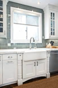 Glass Subway Tile Backsplash Kitchen Gray Glass Subway Tile Backsplash Design Ideas