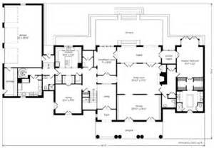 Tate House Floor Plan Montpellier Ken Tate Architect Print Southern Living