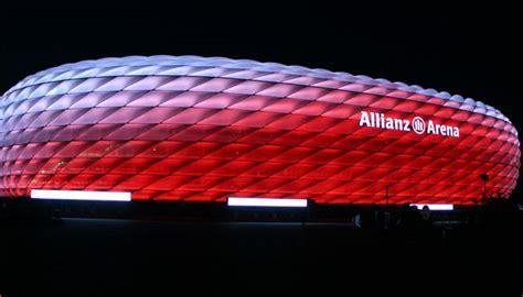 allianz arena beleuchtung leds statt leuchtstoffr 246 hren allianz arena mit neuer led