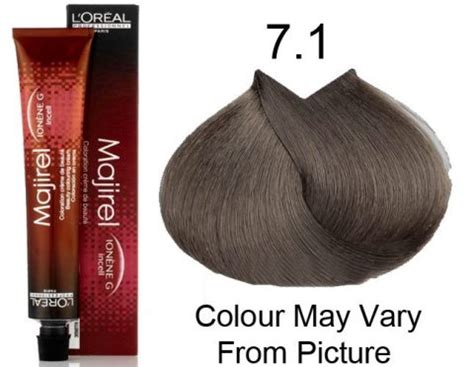 7a hair color l oreal professional majirel 7 1 7a permanent hair color