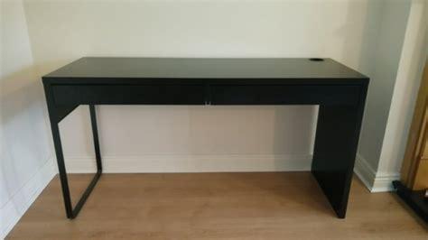 micke desk black brown ikea ikea micke desk blackbrown for sale in celbridge kildare