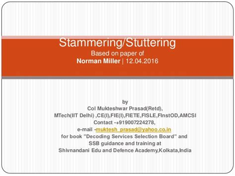 basic research stuttering foundation a nonprofit research papers on stammering dailynewsreports578 web