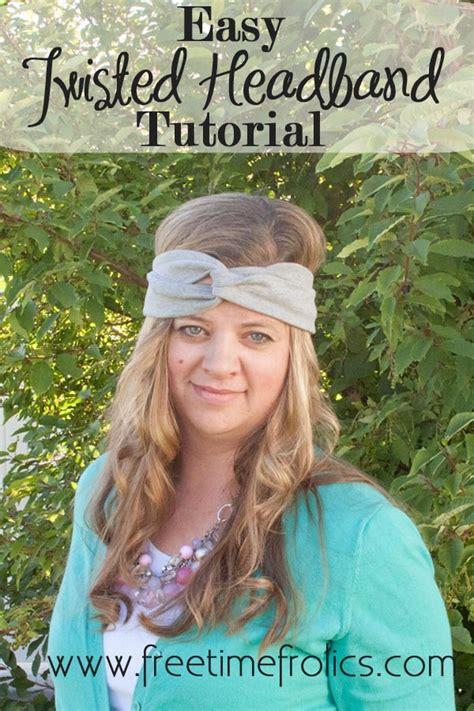 easy html tutorial youtube easy diy knit headband free time frolics