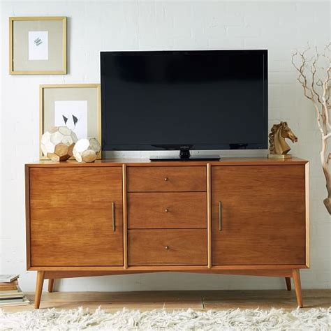 West Elm Media Cabinet by Mid Century Media Console Large West Elm