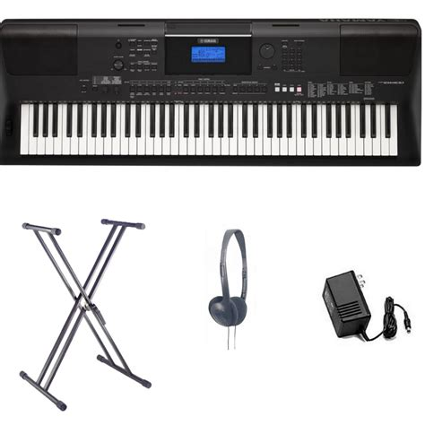 Keyboard Yamaha Keyboard Yamaha Yamaha Psr Ew400 Home Keyboard Bundle From Rimmers
