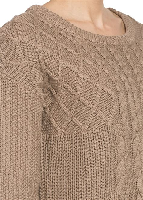 cotton cable knit sweater cable knit cotton sweater knits
