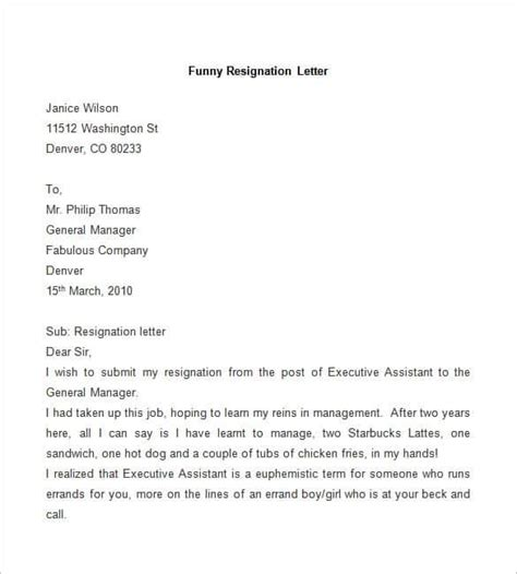 Format Of Resign Letter From Company by 31 Resignation Letter Template Word Pdf Ipages Free Premium Templates
