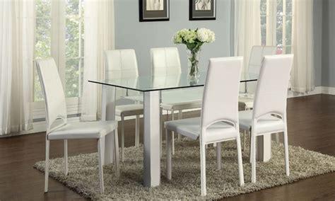 sedie da tavolo da pranzo tavolo da pranzo con sedie groupon goods