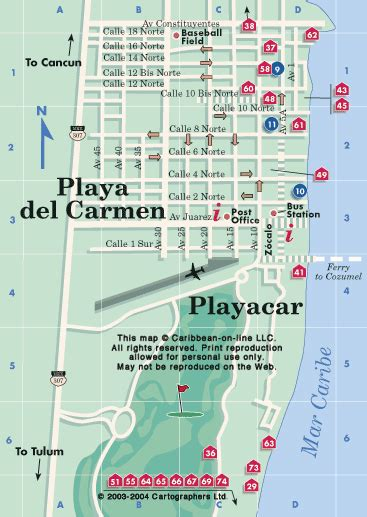 printable map playa del carmen playa del carmen map this map megan fox buzz