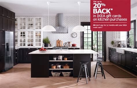 Ikea Black Kitchen Cabinets by Ikea Kitchen With Two Tone Cabinets
