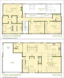 Modern Bathroom Floor Plans Modern House Plans By Gregory La Vardera Architect 6030