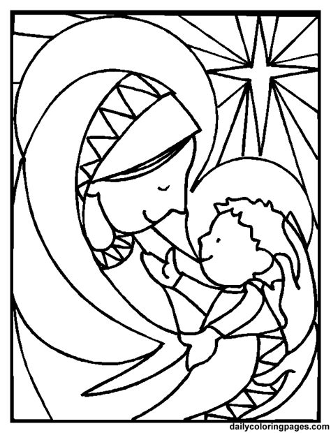 mary mother of god coloring pages az coloring pages