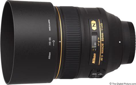 Nikon Af S 85mm F 1 4 G Lensa Kamera Black nikon 85mm f 1 4g af s nikkor lens review