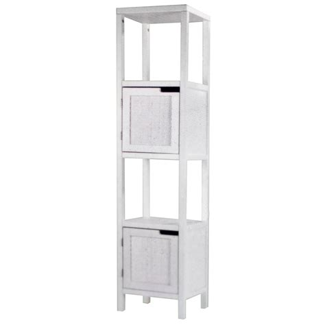White Bathroom Storage Tower Bathroom Storage Tower White Glacier Bay Bath Storage Tower White The Home Depot Canada