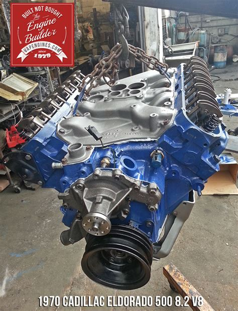 500 cid cadillac engine remanufactured cadillac eldorado 500 8 2 v8 engine los