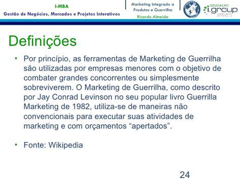 Mba Marketing Illinois by Aula Da Disciplina Quot Marketing Integrado A Produtos E