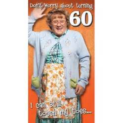 mrs brown s boys happy 60th birthday card danilo