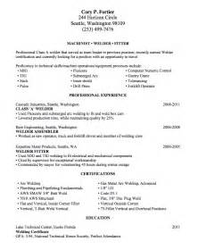 Welding Resume welding resume sle lake tech s career center