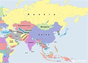 Asia Political Map by Free Political Maps Of Asia Mapswire Com