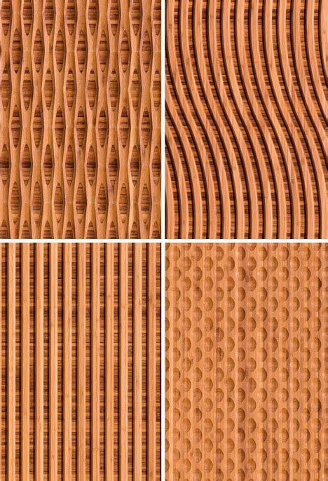 pattern wall covering patterned panels carved natural bamboo wall coverings