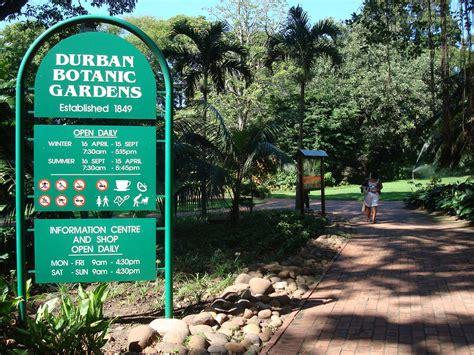 Durban Botanical Gardens Durban Botanic Gardens Explore Durban Kzn