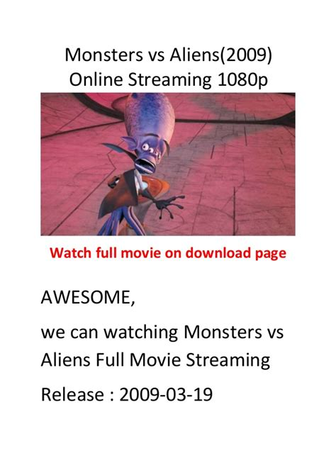 comedy vs action film monsters vs aliens 2009 comedy action movies list