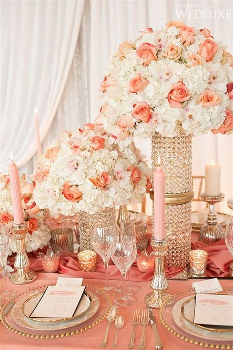 271 best pink and coral wedding flowers images on coral wedding flowers