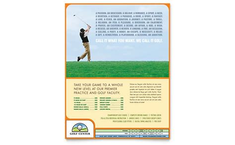 Golf Tournament Flyer Template Powerpoint Funkyme Info Microsoft Powerpoint Templates Search