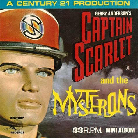 Records Ma Captain Scarlet And The Mysterons Soundtrack Details Soundtrackcollector