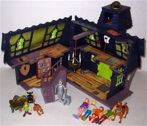 haunted house toy scooby doo haunted house mansion playset action figures on ebay toy time