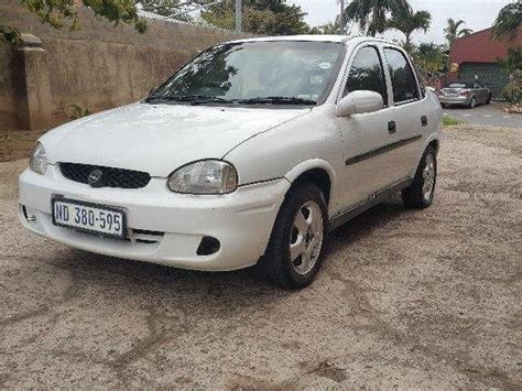opel corsa 2004 white corsa white used cars in durban mitula cars
