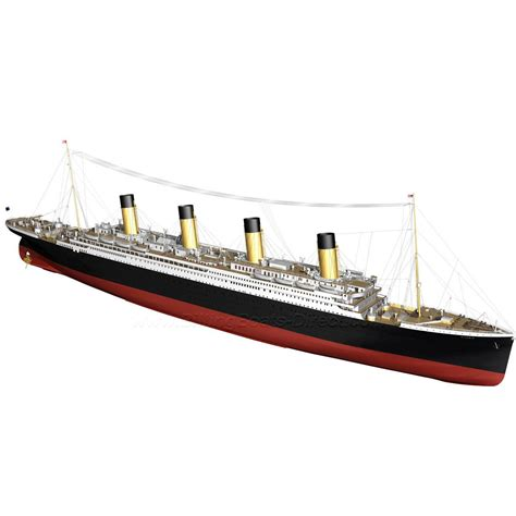 titanic rc boat for sale billing boats titanic model boat kit b510 howes models