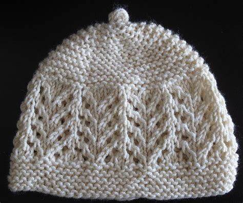 baby lace hat gull lace baby hat mitten