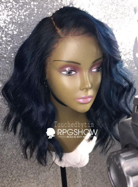 taj hair styles taj dark blue wavy human hair lace wigs touchedbytim023