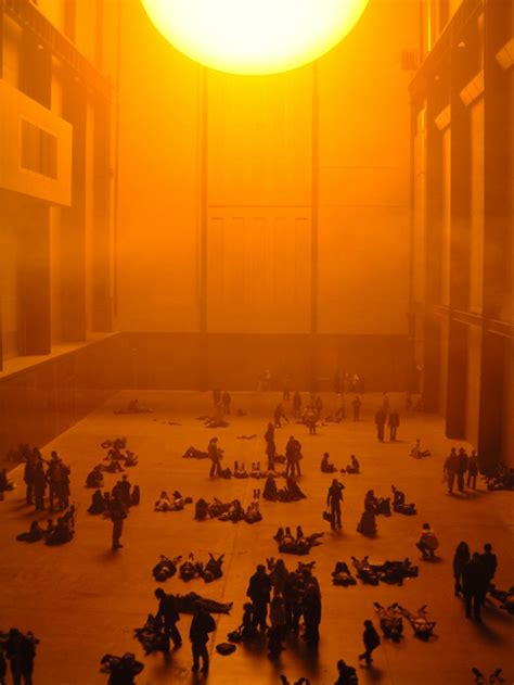 the weather experiment the the creative vision of renowned conceptual artist olafur eliasson freunde von freunden