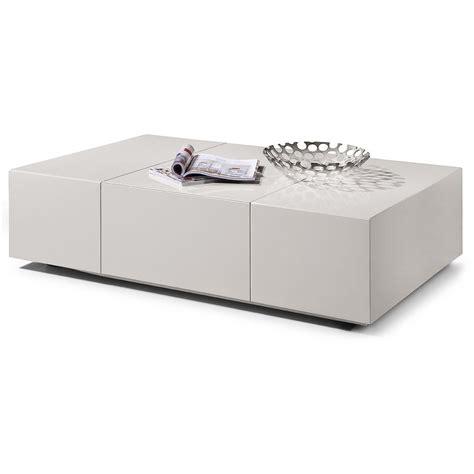 amazing white coffee table with storage modern white