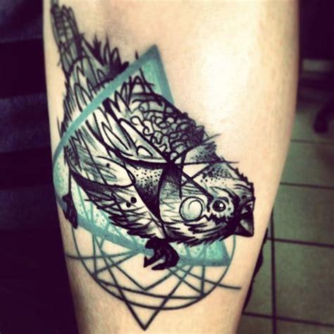 geometric tattoo elements bird vs geometric elements tattoo by g 225 bor kanyuk spatz